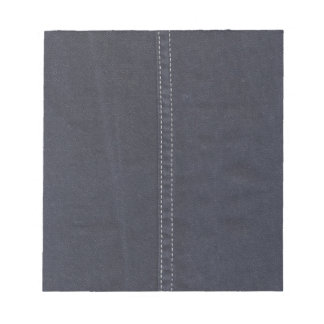 Dark Denim Seam Note Pad