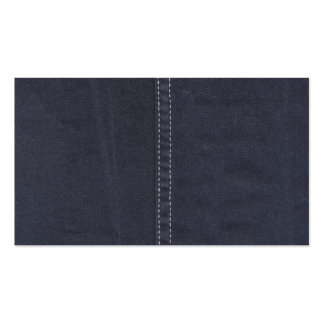 Dark Denim Seam Pack Of Standard Business Cards