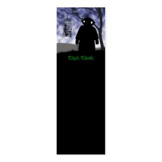 Dark Derek - Hanging Cage Pack Of Skinny Business Cards