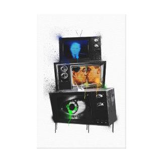 Dark Designs 9 Canvas Print