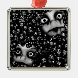 Dark dolls scary products christmas ornament