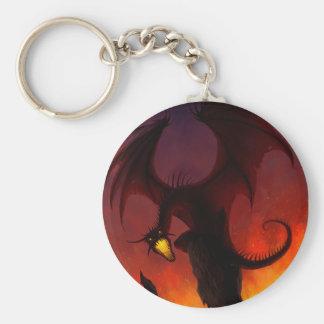 Dark Dragon Keychain