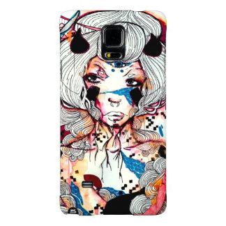 Dark edgy punk pin up girl Japanese geisha Galaxy Note 4 Case