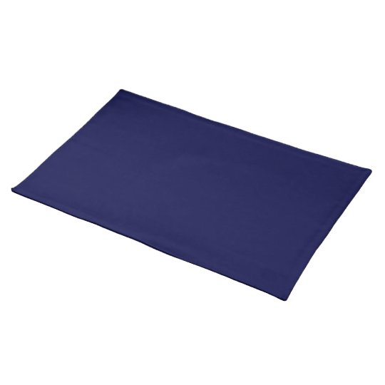 Dark Electric Blue Placemat