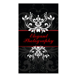 Dark Elegance Double-Sided Standard Business Cards (Pack Of 100)