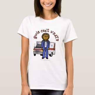 Dark EMT Paramedic Girl T-Shirt