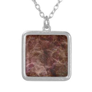Dark Enchantments Square Pendant Necklace