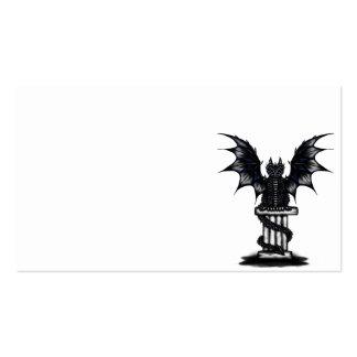 Dark Epic Dragon Business Cards