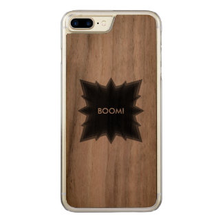 dark explosion carved iPhone 8 plus/7 plus case