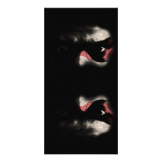 Dark Eyes Customised Photo Card