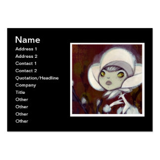 Dark Fairy Tale Character 11 Business Card