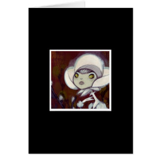 Dark Fairy Tale Character 11 Greeting Card