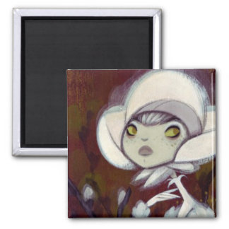 Dark Fairy Tale Character 11 Square Magnet