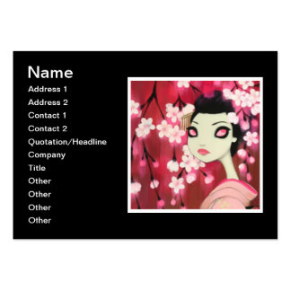 Dark Fairy Tale Character 12 Business Card Template