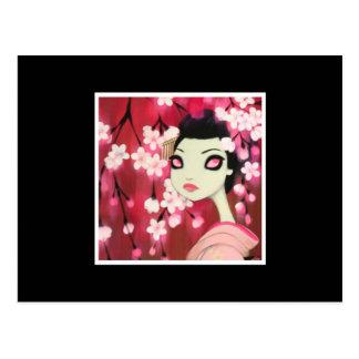 Dark Fairy Tale Character 12 Postcard