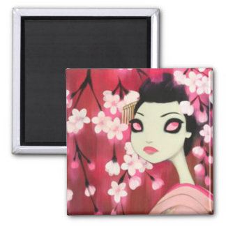 Dark Fairy Tale Character 12 Square Magnet