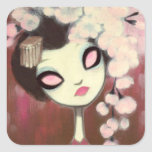Dark Fairy Tale Character 13 Square Stickers