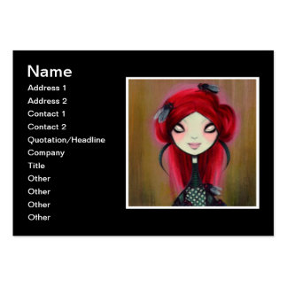 Dark Fairy Tale Character 14 Business Card Templates