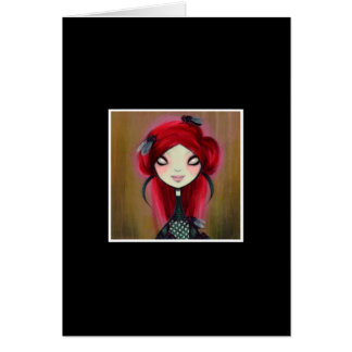 Dark Fairy Tale Character 14 Greeting Card