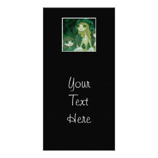 Dark Fairy Tale Character 15 Photo Card Template