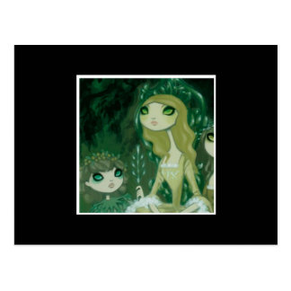 Dark Fairy Tale Character 15 Postcard