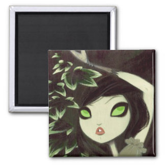 Dark Fairy Tale Character 16 Square Magnet