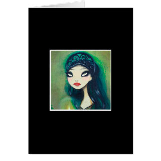 Dark Fairy Tale Character 17 Greeting Card