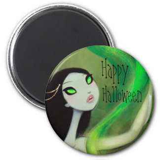 DARK FAIRY TALE CHARACTER 18 HAPPY HALLOWEEN 6 CM ROUND MAGNET