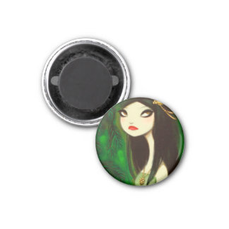 DARK FAIRY TALE CHARACTER 19 3 CM ROUND MAGNET