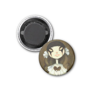 Dark Fairy Tale Character 1 3 Cm Round Magnet