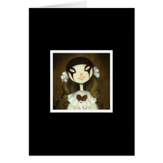 Dark Fairy Tale Character 1 Greeting Card