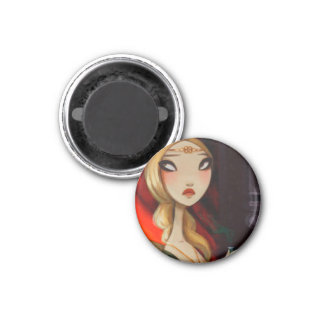 DARK FAIRY TALE CHARACTER 23 3 CM ROUND MAGNET