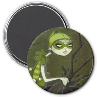 DARK FAIRY TALE CHARACTER 24 7.5 CM ROUND MAGNET
