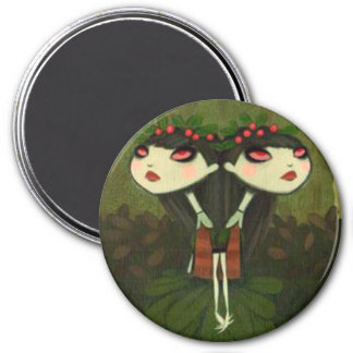 DARK FAIRY TALE CHARACTER 25 7.5 CM ROUND MAGNET