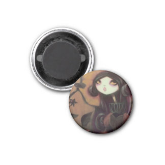 DARK FAIRY TALE CHARACTER 27 3 CM ROUND MAGNET
