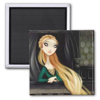 Dark Fairy Tale Character 2 - Rapunzel Magnet