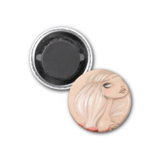 DARK FAIRY TALE CHARACTER 30 3 CM ROUND MAGNET
