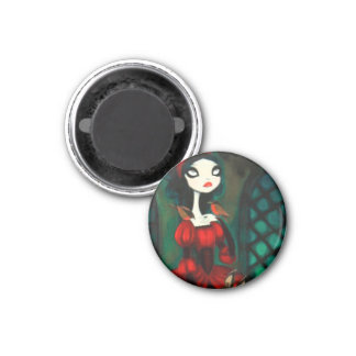 DARK FAIRY TALE CHARACTER 31 3 CM ROUND MAGNET