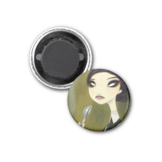 DARK FAIRY TALE CHARACTER 33 3 CM ROUND MAGNET