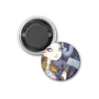 DARK FAIRY TALE CHARACTER 34 3 CM ROUND MAGNET