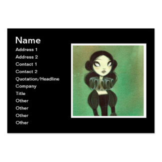 Dark Fairy Tale Character 3 Business Card Templates