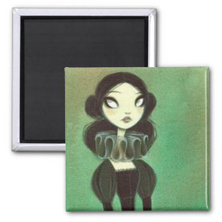 Dark Fairy Tale Character 3 Square Magnet