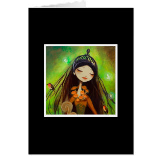 Dark Fairy Tale Character 4 Stationery Note Card