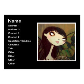 Dark Fairy Tale Character 5 Large Business Cards (Pack Of 100)