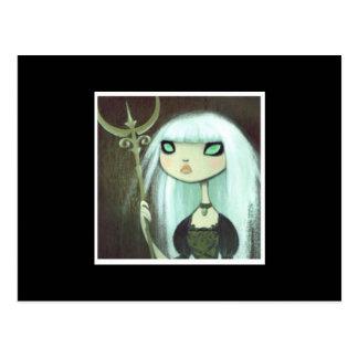 Dark Fairy Tale Character 6 Postcard