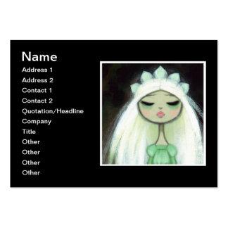 Dark Fairy Tale Character 9 - Sad Princess Business Card