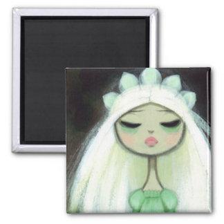 Dark Fairy Tale Character 9 - Sad Princess Magnet