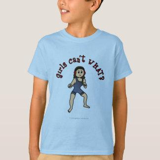 Dark Female Wrestler T-Shirt