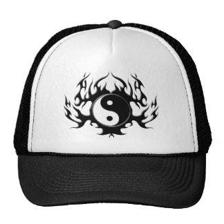 Dark Flame Yin-Yang Hats