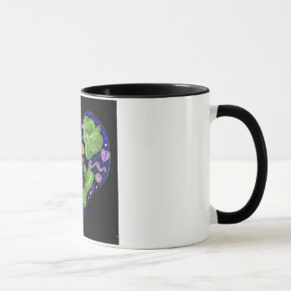 Dark Flower Power Mug